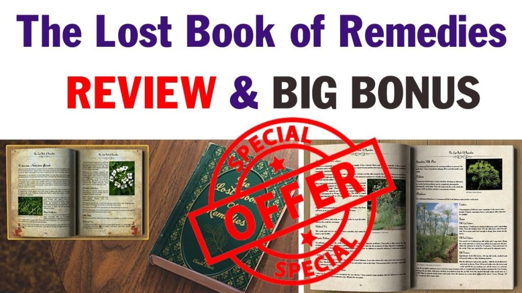 Read The Lost Book Of Remedies